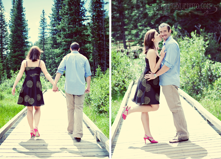 Photo by Jenny o engagement wedding photography Rocky mountain national park boulder denver colorado