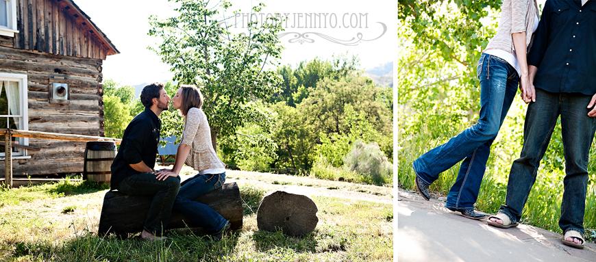 Golden Engagement - PhotoByJennyO