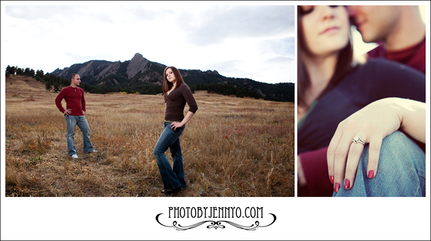 Photography by Jenny Orin  -  Boulder  -  Denver  -  Flatirons  -  Chautauqua  -  Colorado - Engagement - Wedding - Photography