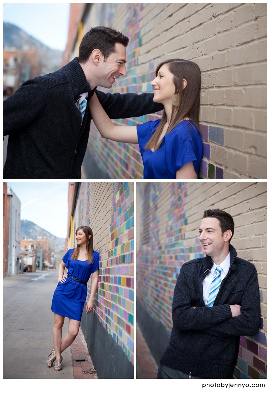 Boulder Colorado Engagement Photos